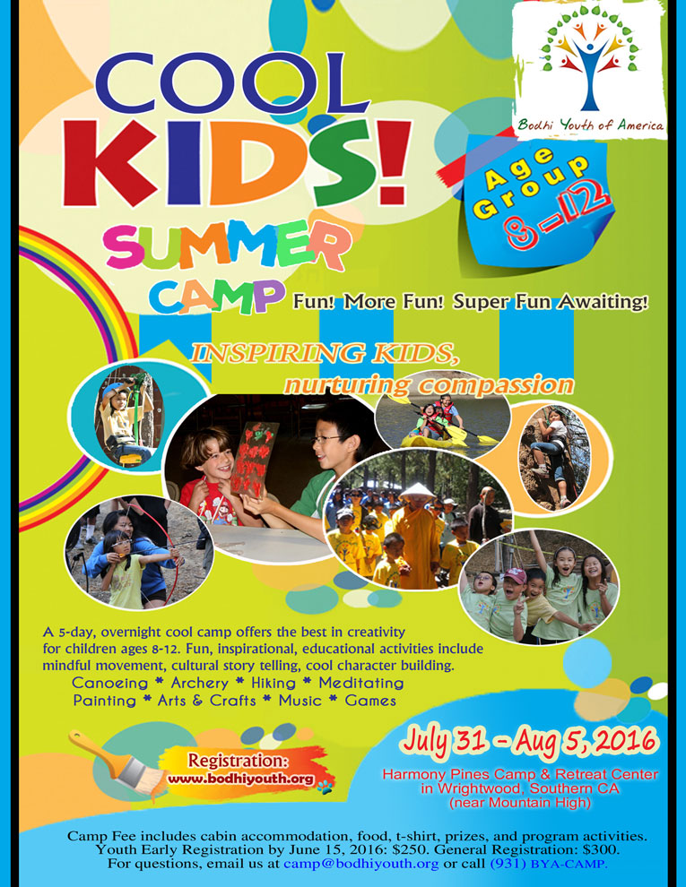 BYA Kids Summer Camp 2016 w