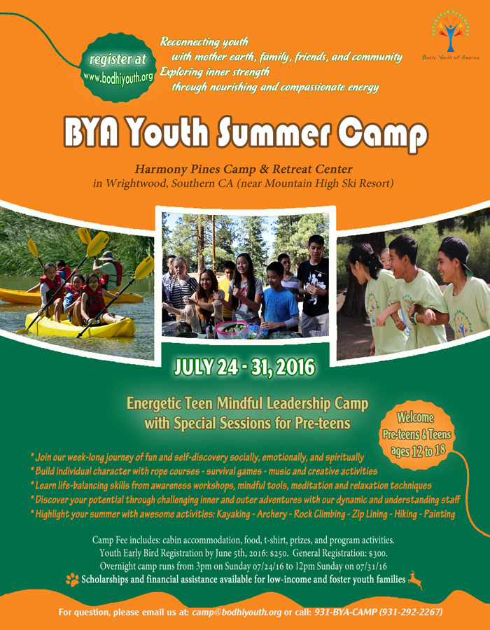Teen BYA summer camp 2016-w